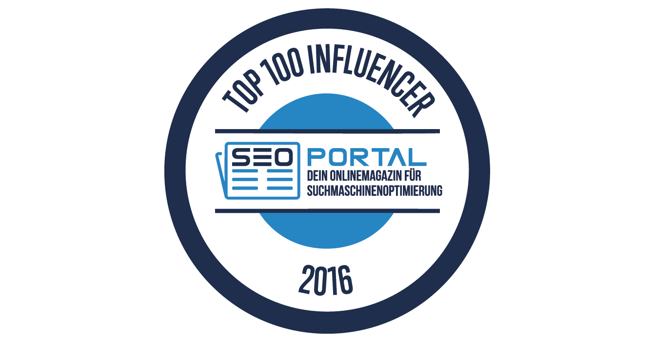 "SEO Portal: ""Christian Tembrink als Top 100 Influencer"""