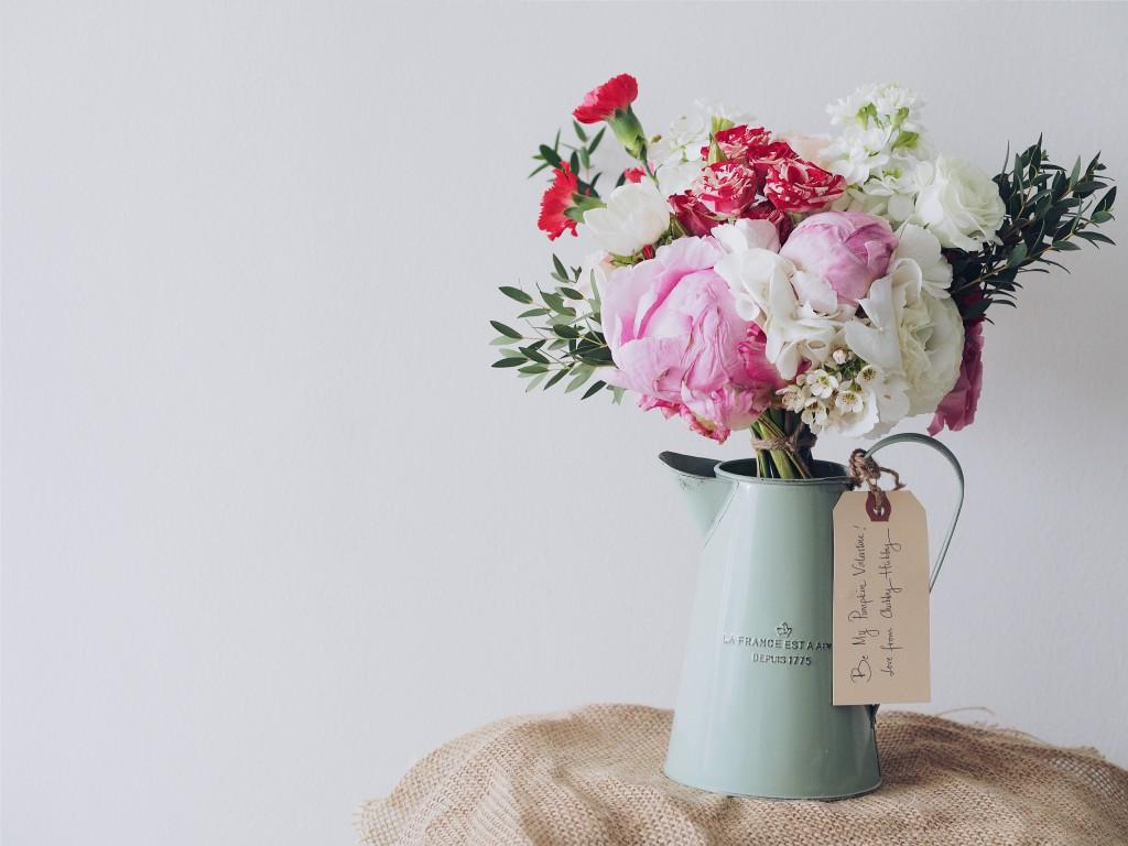Berühren: Strauß Blumen