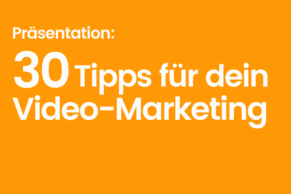 30 Tipps für YouTube-Marketing