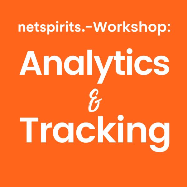 Module eines Analytics- & Tracking-Workshops