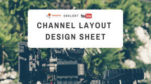 YouTube Channel Layout Design