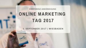 Online Marketing Tag 2017