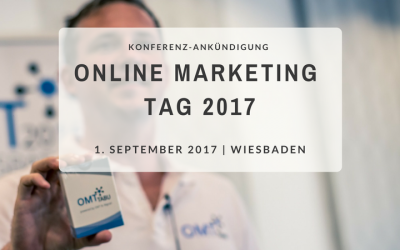 Save the date: Online Marketing Tag2017