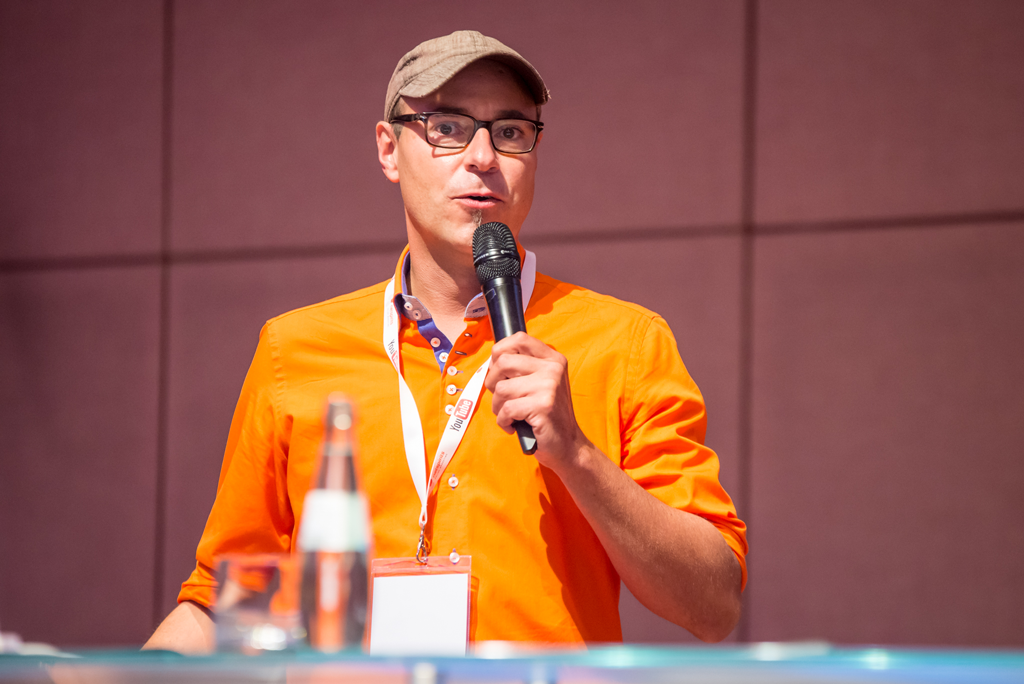 Christian Tembrink von netspirits bei der WebVideoCon 2017