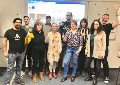 Absolventen des IHK-Lehrgangs SEO-/SEA-Managerin 03/2019
