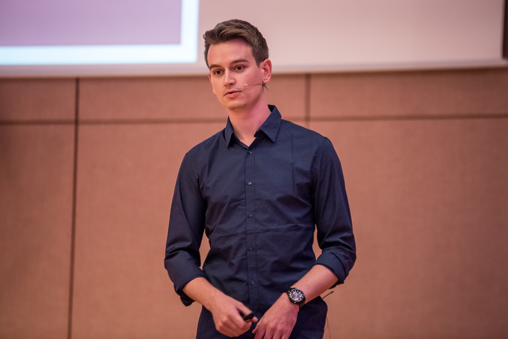 Duncan Reid von Stilnest bei der WebVideoCon 2017
