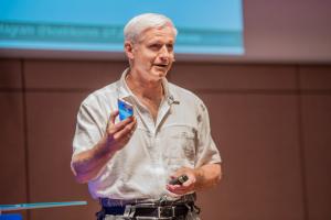 Franz-Josef Baldus von koelnkomm kommunikationswerkstatt bei der WebVideoCon 2017