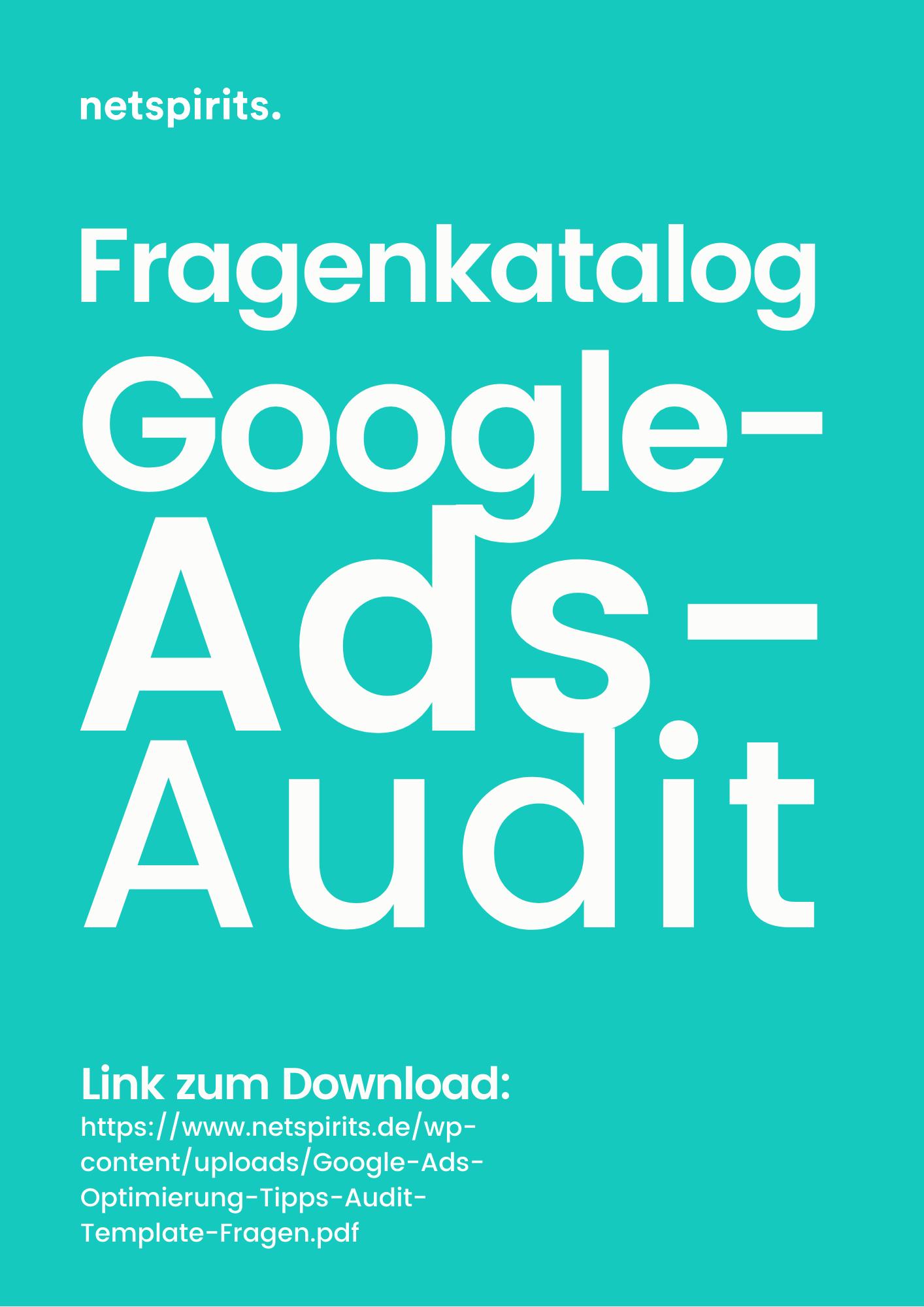 Worauf du bei einem Google-Ads-Audit achten solltest