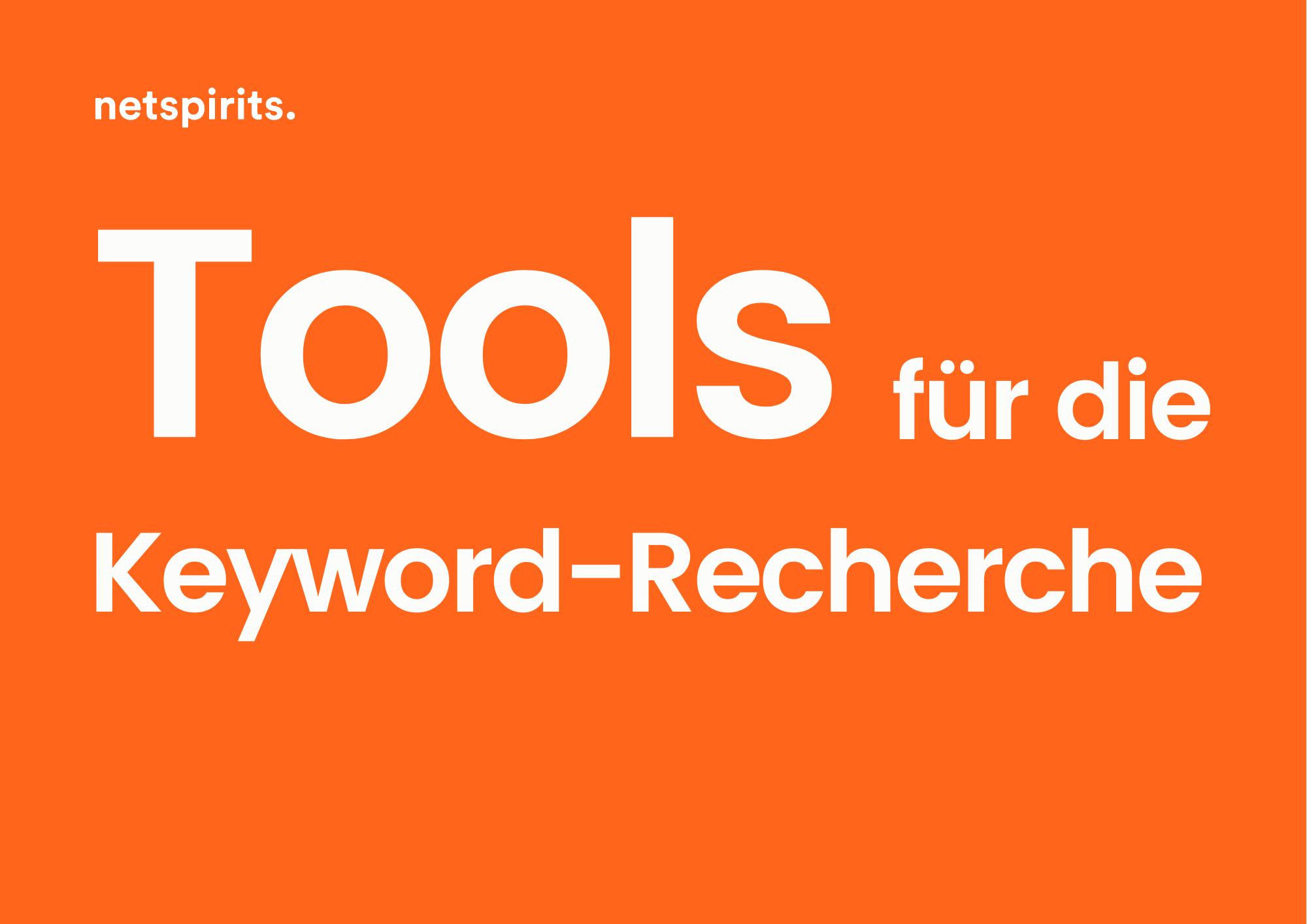 Überblick über Keyword-Analyse und -Recherche-Tools