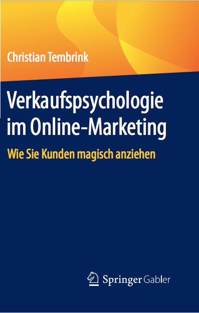 Das neue Buch Verkaufspsychologie im Online-Marketing