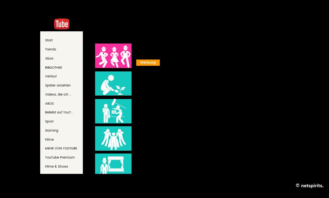 Video Discovery Ads in der Desktop-Ansicht