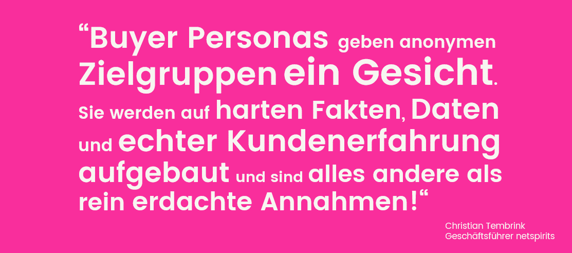 Was sind Buyer Personas?