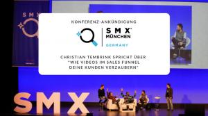 Christian Tembrink als Speaker auf der SMX 2017