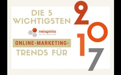 Unsere Online-Marketing-Trends für2017