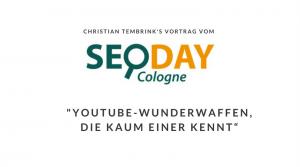 SEO-Day 2014 Christian Tembrink Vortrag